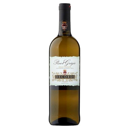 Decordi Pinot Grigio Delle Venezie IGT Dry White Wine 0.75 L