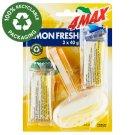 4MAX Lemon Fresh WC Block 3 x 40 g