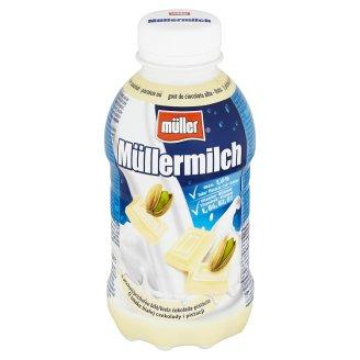 Müller Müllermilch Milk Drink with White Chocolate-Pistachio Flavour 400 g