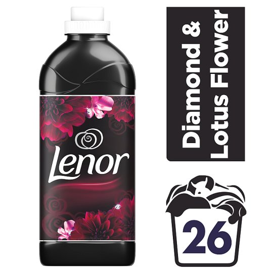 Lenor Fabric Conditioner Diamond & Lotus Flower 26 Washes