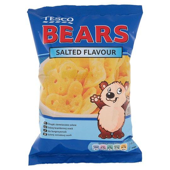 Tesco Bears Salted Flavour Potato Snack 50 g