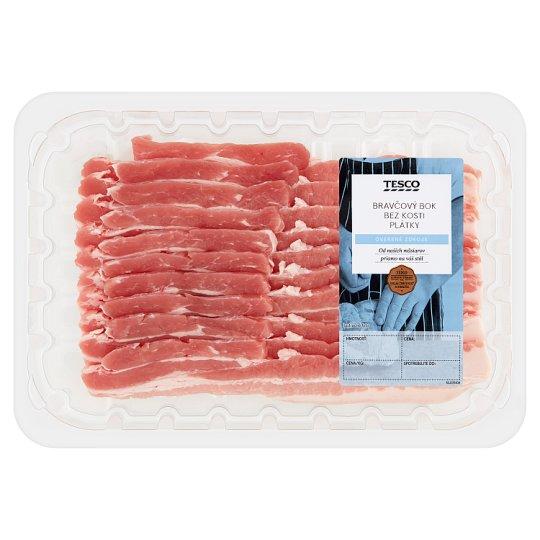 Tesco Grill Pork Side without Bone, Sliced 0.320 kg