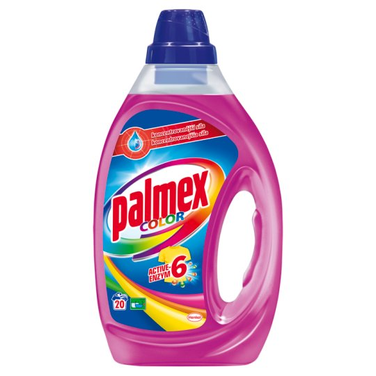 Palmex Color Active-Enzym 6 Washing Detergent 20 Washes 1.00 L