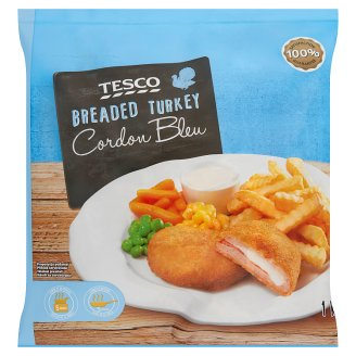 Tesco Breaded Turkey Cordon Bleu 1 kg