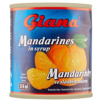 Giana Mandarínky v sladkom náleve 312 g