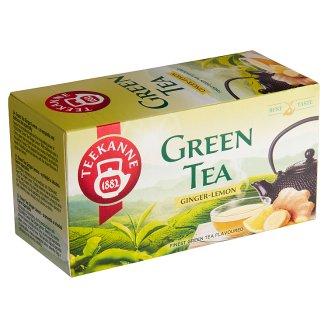 TEEKANNE Green Tea Ginger-Lemon, 20 Tea Bags, 35 g