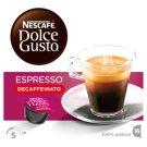 NESCAFÉ Dolce Gusto Espresso Decaffeinato - Coffee in Capsules - 16 Capsules Packed