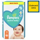 Pampers Active Baby Size 3, 66 Nappies, 6-10 kg