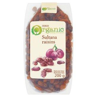 Tesco Organic Bio Sultana Raisins 200 g
