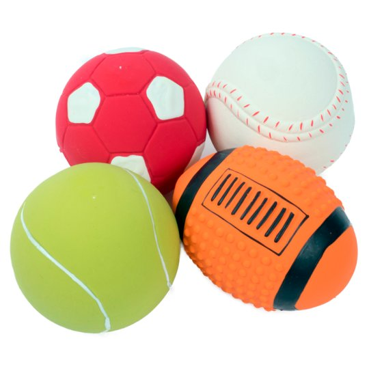 Petface Latex Sport Ball Dog Toy