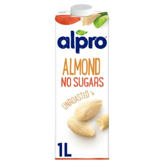 Alpro Almond Drink Unsweeteened Unroasted 1 L