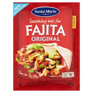 Santa Maria Fajita original koreninový prípravok do plniek placiek tortillas a hrianok 28 g