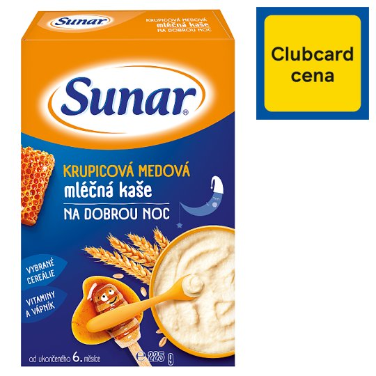 Sunárek Meal Honey Milk Mash for Good Night 225 g