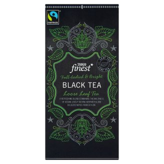 Tesco Finest Čierny čaj sypaný 250 g