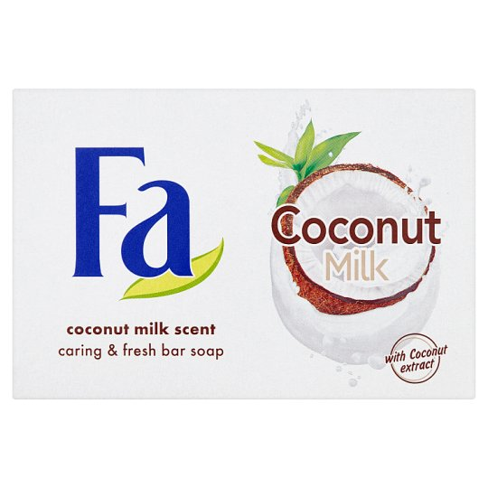 Fa tuhé mydlo Coconut Milk 90 g