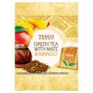 Tesco Zelený čaj s čajom maté citrónovou trávou a príchuťou manga 15 x 1,5 g