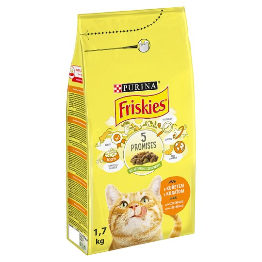 FRISKIES with Chicken and with Vegetable 1.7 kg
