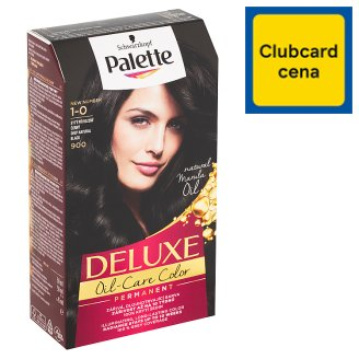 Schwarzkopf Palette Deluxe farba na vlasy Prirodzený Sýtočierny 900