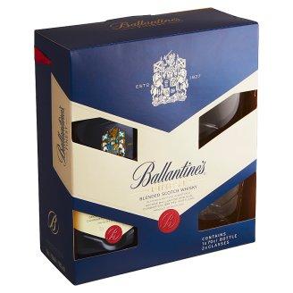Ballantine's Finest Blended Scotch Whisky 40% 0.7 L + 2 Glasses