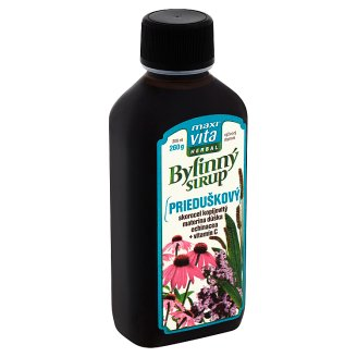 MaxiVita Herbal Bronchial Syrup Herbal Supplement 200 ml