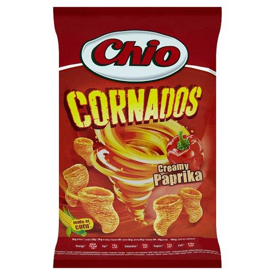 Chio Cornados smažený kukuričný snack s paprikovou príchuťou 65 g