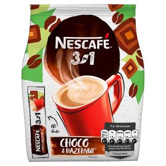 NESCAFÉ 3in1 Choco Hazelnut, instantná káva, 10 vreciek x 16 g (160 g)