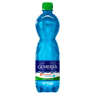 Gemerka Magnesium + Calcium Natural Mineral Water Lightly Sparkling 0.5 L