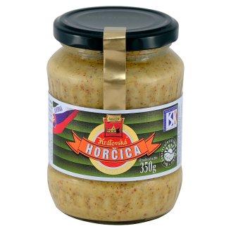Snico Kráľovská Mustard Wholegrain 350 g