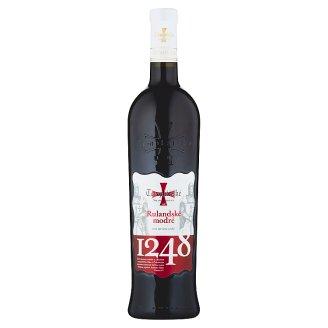 Templářské Sklepy Čejkovice Rulandské modré akostné suché červené víno 0,75 l