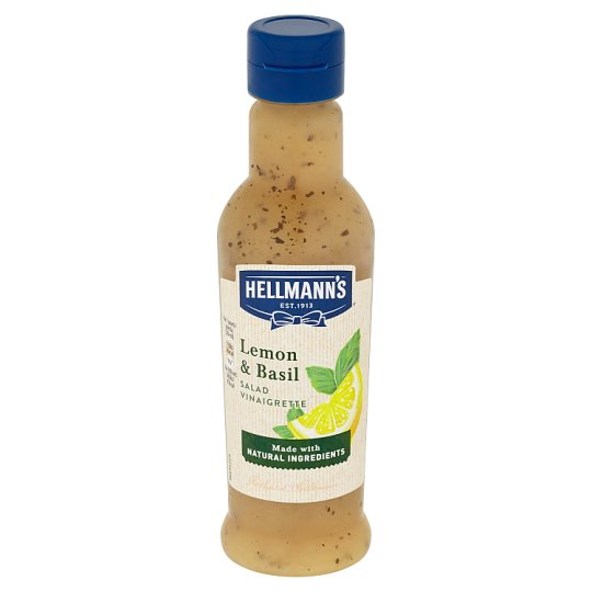 Hellmann's Lemon & Basil Salad Vinaigrette 210 ml