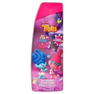 Trolls Shampoo and Conditioner for Children 2v1 400 ml