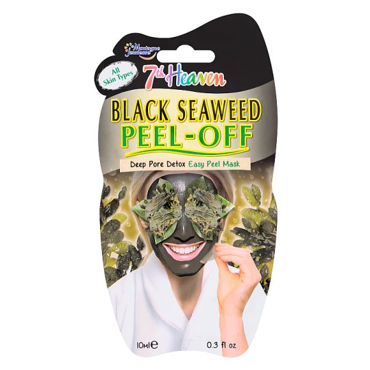 7th Heaven Black Seaweed Peel-Off Mask 10 ml