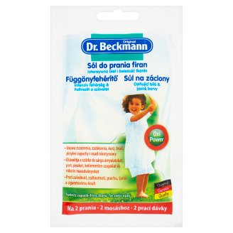 Dr. Beckmann Salt on Curtains 80 g