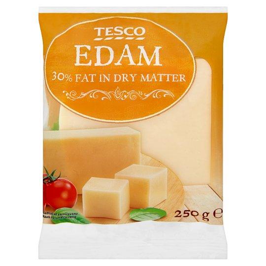 Tesco Edam 30 % Fat in Dry Matter 250 g