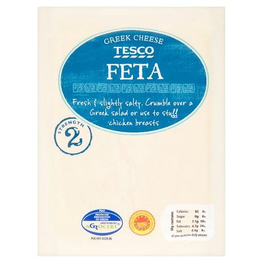 Tesco Feta Greek Cheese 200 g