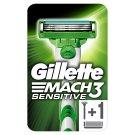 Gillette Mach3 Sensitive Holiaci Strojček Pre Mužov