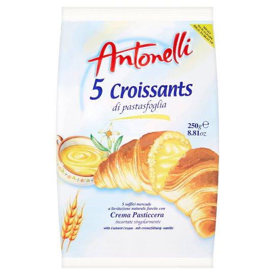 Antonelli Croissant with Custard Cream Filling 5 x 50 g