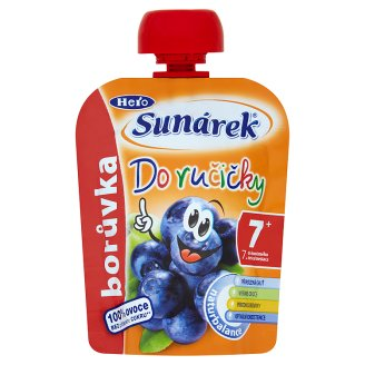 Sunárek Do Ručičky with Blueberries 90 g