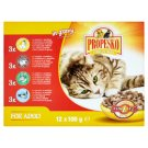 Propesko Complete Food for Adult Cats of All Breeds 12 x 100 g