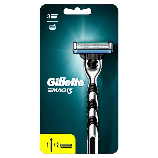 Gillette Mach3 Holiaci Strojček Pre Mužov + 1 Hlavice
