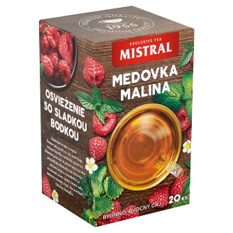 Mistral Melissa Raspberry Herbal Fruit Tea 20 x 1.5 g