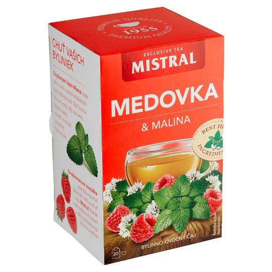 Mistral Melissa Raspberry Herbal Fruit Tea 20 x 1.5 g