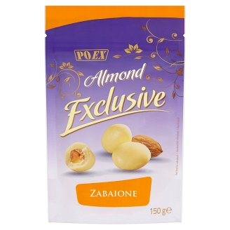 Poex Almond Exclusive Zabaione Almonds in White Chocolate 150 g