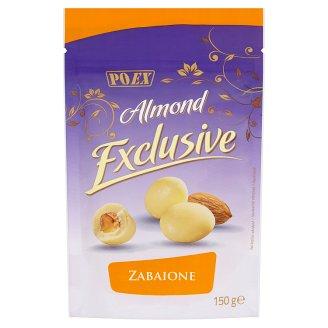 Poex Almond Exclusive Zabaione jadrá mandlí v bielej čokoláde 150 g