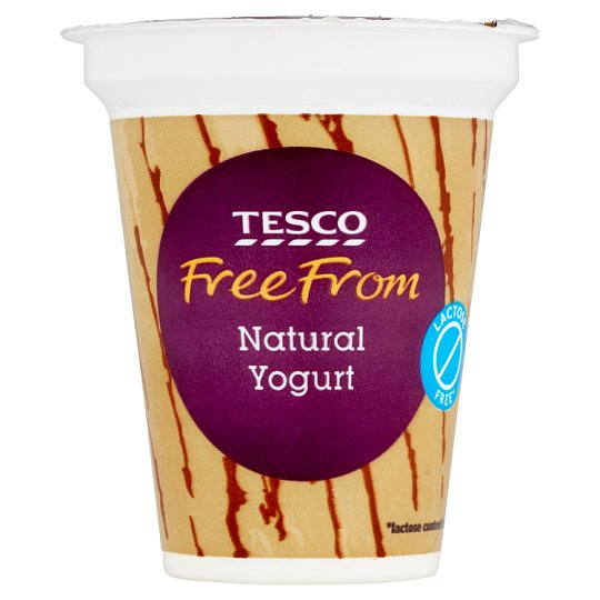 Tesco Free From Lactose Free Natural Yoghurt 150 g