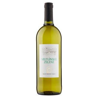 Veltlínske zelené víno biele suché 1 l