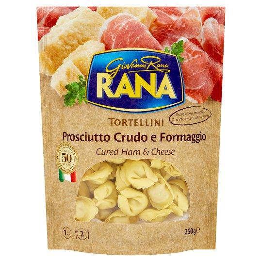 Rana Tortellini Fresh Egg Pasta with Raw Ham and Cheese 250 g