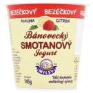 Milsy Bánovecký Cream Yoghurt Raspberry Lemon 145 g