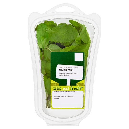 Tesco Eat Fresh Mojito Pack mäta pieporná, trstinový cukor 40 g