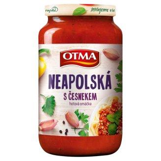 Otma Gurmán Naples Sauce with Garlic and Parmesan Flavoured 350 g